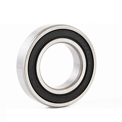 TONGTAIRUI-LIGHTS 2pcs 6006RZ ABEC-3 Rodamiento de bolas profundo 6006-RZ rodamientos de nivel de precisión 30x55x13mm rodamiento de acero