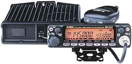 ALINCO アマチュア無線機 144/430MHz モービルタイプ 50/35W DR-635HV