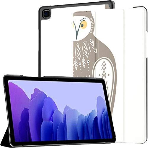 Funda para Samsung A7 2020 Infantil búho Dibujado a Mano para Samsung Galaxy Tab A7 10,4 Pulgadas 2020 Compatible con Funda Galaxy A7 Funda de Cuero PU para Tableta