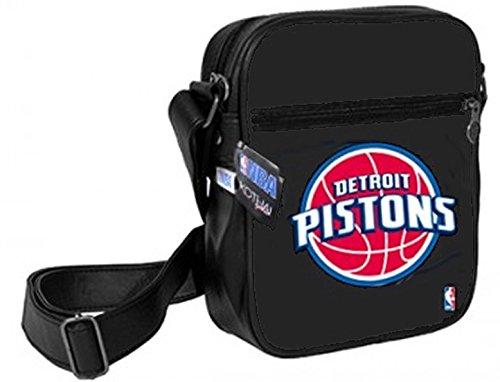 Kothai x NBA Detroit Pistons Pouch Bag Black Tasche Handtasche Umhängetasche