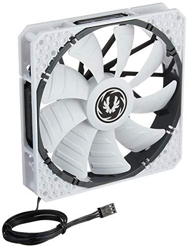 BitFenix Spectre Pro All White 140mm Computergehäuse Ventilator - Computer Kühlkomponenten (Computergehäuse, Ventilator, 14 cm, 1200 RPM, 22,8 dB, 86,73 cfm)