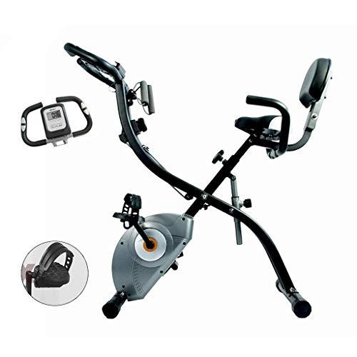 Home Fitness Bicicleta Estática Rotar Plegable Controlado Magnéticamente Bicicletas Pérdida De Peso Que Adelgaza La Cubierta De La Bici Cubierta Ejercicio Aeróbico Bicicleta