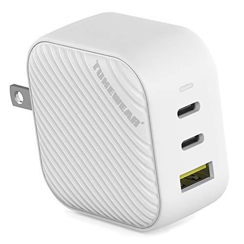 TUNEMAX 66W GaN USB-C 2ポート USB-A 1ポート 3ポート ホワイト TUN-IP-200108
