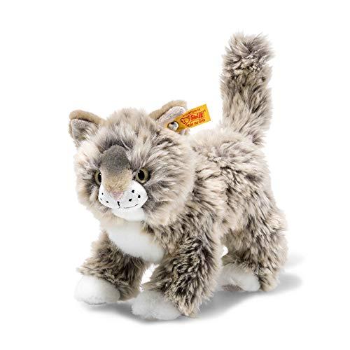 Steiff 674808 Katze, grau/beige