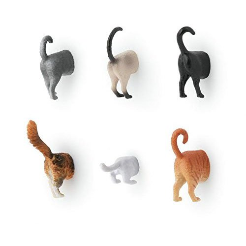 Fridge animal butt magnets