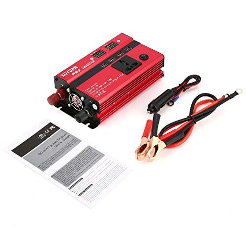 Heaviesk 3000 Watt Solar Wechselrichter DC 12 V zu AC 220 V Led-anzeige Auto Sinus Konverter für Haushaltsgeräte