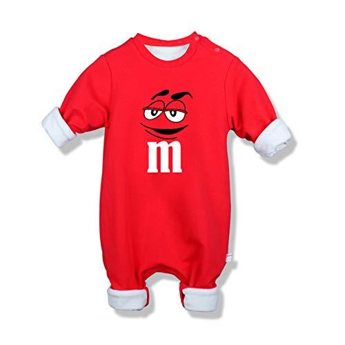 DHRBK Neugeborene Jungen Mädchen Strampler Baby Onesies Baumwolle Spongebob Cartoons Jumpsuit Langarm Pyjamas Bodysuits Schlafanzüge Outfits für 0-24Monat Baby Kids