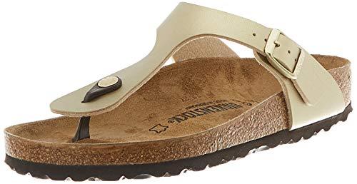 Birkenstock Damen 1016108_39 flip-flops, Gold, EU