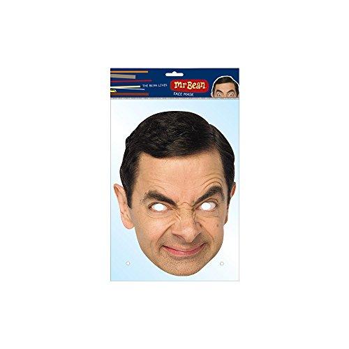 Unbekannt MA1301–Maske: Mister Bean–Pappe–Einheitsgröße