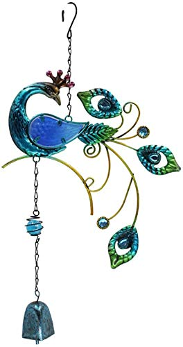 CZSM Wind chime peacock pendant (Peacock blue)