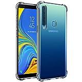 Verco Coque pour Samsung Galaxy A9 (2018), Coque Silicone Housse Etui de Protection Légère TPU...