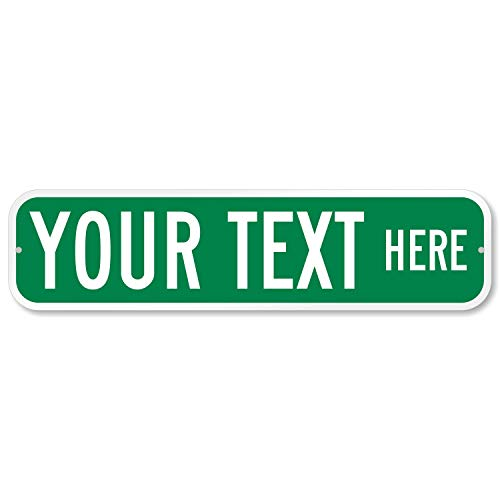 SmartSign Customize Your Own Green Street Sign   6