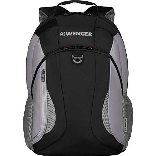 Wenger BTS 2020, Mercury, 16 Inch Laptop Backpack with Tablet Pocket, Black / Grey