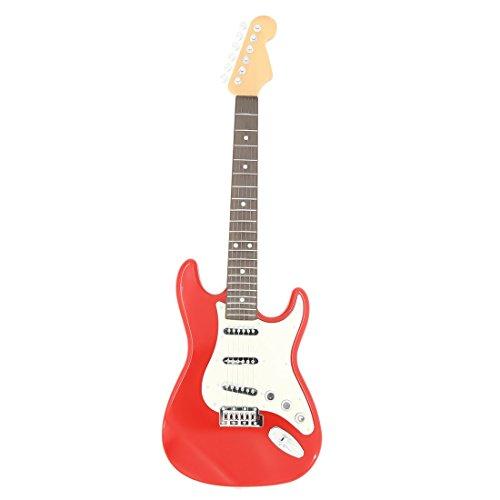 MZZYP Guitarra eléctrica de 6 Cuerdas for niños, Children Rock Guitarra Guitarra...
