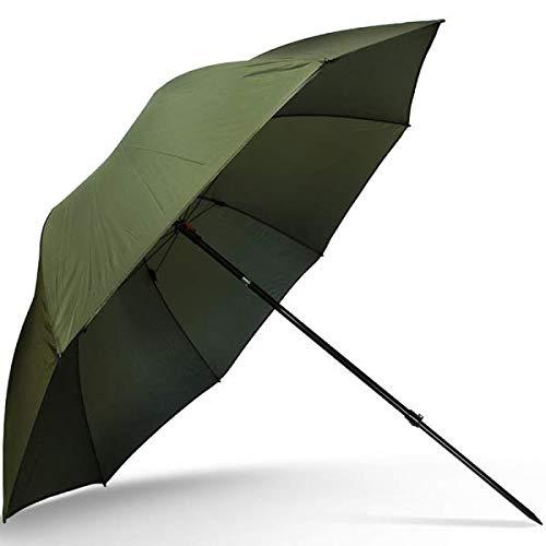 g8ds® 45er Schirm Angelschirm Grün Brolly Angelausrüstung Karpfenangeln