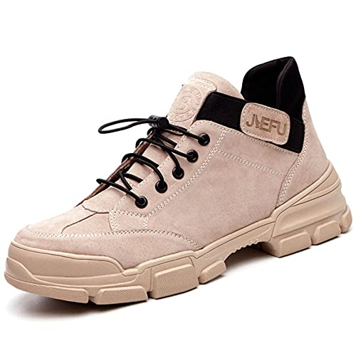 Zapatos de trabajo Botas de seguridad Zapatos industriales de zancada suave para hombres Botas de trabajo de...