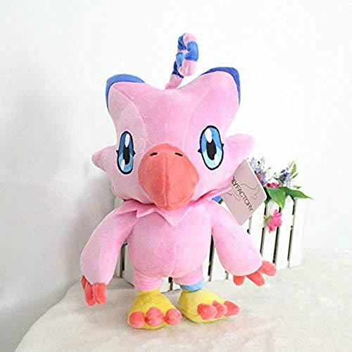 QIXIDAN Digimon Digitale Monster Spielzeug Anime Piyomon Plüschtier 30 cm Kurze Plüsch Puppe Kissen Cosplay Geschenk