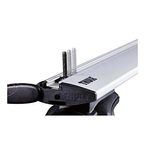 Thule 696400 Adattatori Fissaggio Box su Canaline a T, 24 x 30 mm, Set di 4