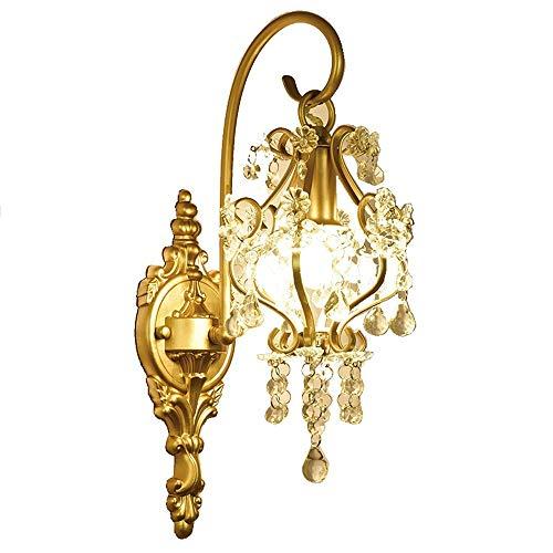 HDDD wandlamp van kristal, Frans, woonkamer, nachtkastje, spiegel, voorlicht, hal, modern, slaapkamer, creatieve verlichting Europees Amerika