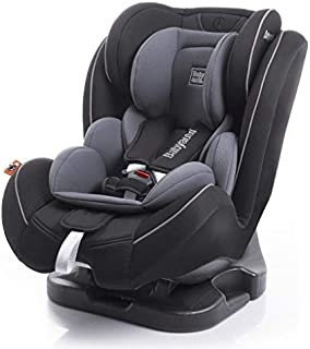 Babyauto Taiyang reclining Baby Car Seat, From Birth to 12 Years, From 0-36 Kg,Group 0+123- Black with Grey Insert