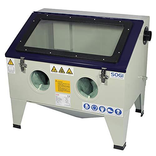 Sabbiatrice da banco professionale con accessori SOGI S-72 cabina di sabbiatura
