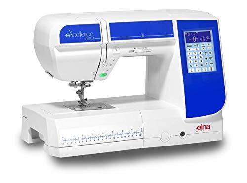 Elna eXcellence 680 – Mejor máquina de coser Elna con máximo nivel de rendimiento