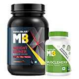 With 72g of complex carbohydrates per serving, this weight gain supplement helps refill the glycogen reserves in the body which are used as fuel during intense workouts Contains 12g of protein per serving which triggers the synthesis of new muscle ti...