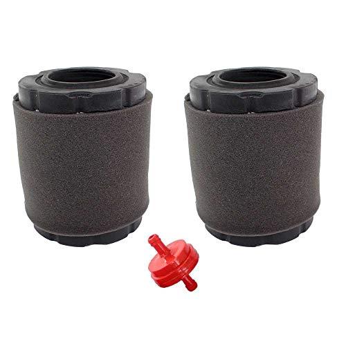 AISEN 2x Luftfilter Kit für Briggs & Stratton 215802 215805 215807 5429K 591583 796032 591383 796032 798911