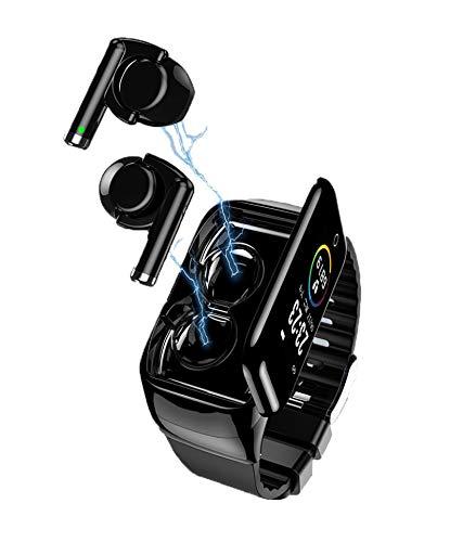 GUOJIAYI 7 Bluetooth Headset und Armband Combo, Call 5.0 Smart Watch, Bluetooth Pair Ear