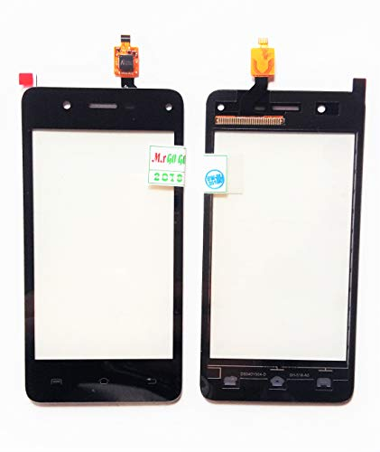 ABshara Touch Screen Digitizer for Lava A44 (Black)