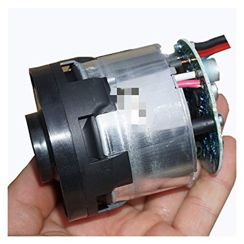 SSGLOVELIN Ventilador de aspiradora sin escobillas DC15-25V 370W Violento violento Turbo Ventilador Velocidad de Alta succión sin escobillas