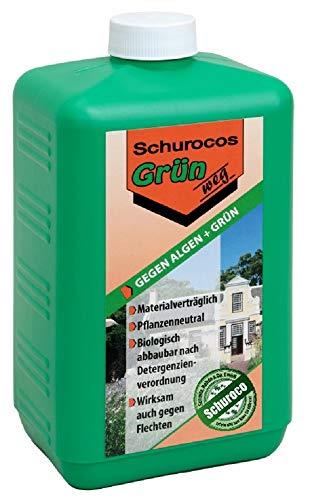 MOOS weg! 1,8 L Spezial-Reinigungsmittel für Stein, Holz und Kunststoff