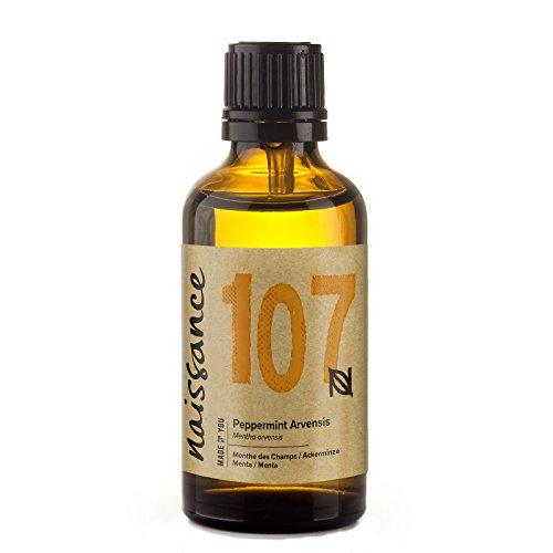 Naissance Aceite Esencial de Menta n. º 107 – 50ml - 100% puro, vegano y no OGM.