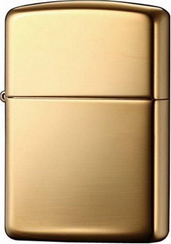 ZIPPO(ジッポー) アーマー ハイポリッシュブラス 真鍮無垢 鏡面仕上げ オイルライター ゴールド 169 並行輸入品