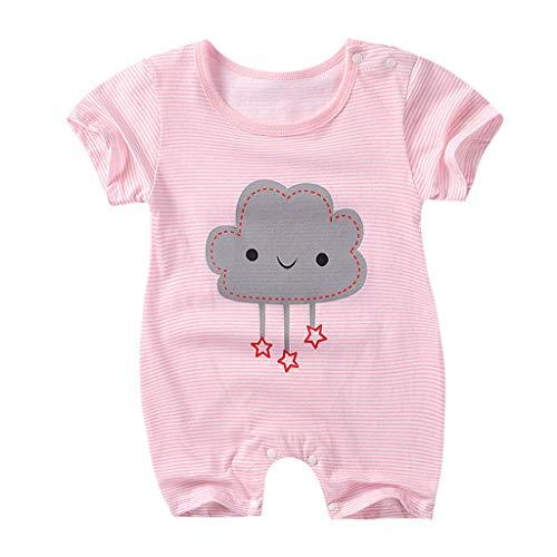 Mono para bebé niños, Mono Manga Corto Bebes niños niñas Pijamas Ropa de Dormir Bodies Camiseta