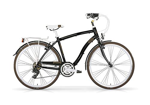 MBM Vintage TRK 28 al U 21V, Bici Uomo, Marrone A41, 54