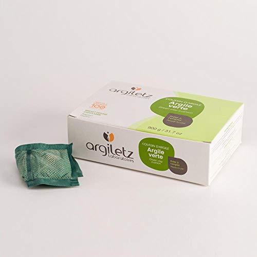 ARGILETZ Lot de 2 boîtes de coussins d'argile verte (2x 36 coussinets de 25g) distribué par ARCILIA