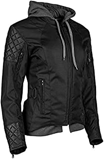 Speed and Strength DOUBLE TAKE WOMEN'S TEXTILE JACKET BLK W2XL