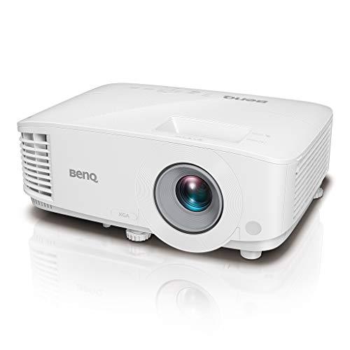 BenQ Proyector para Oficina XGA 3600 Lúmenes ( MX550 ), DLP, 1024x768, Alta Brillantez, Alto Contraste 20000:1, Dual HDMI, VGA, Keystone, Configuración Sencilla, Tecnología SmartEco