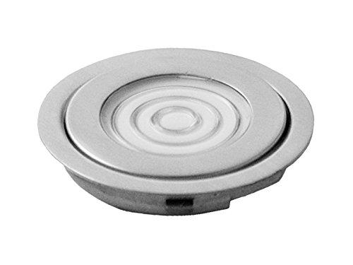 PANLUX STEP vloerlamp zilver - blauw, metaal, 0,2 W, grijs, 4,6 x 4,6 x 0,8 cm