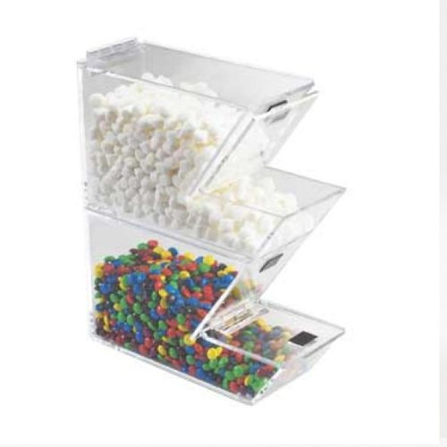 Lowest Price! 4W x 11D x 7H Stackable Topping Dispenser/Case of 2