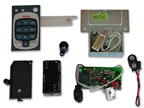 Cisa 07114.17.0 - Kit recambio caja electro.dgt a dgt vision