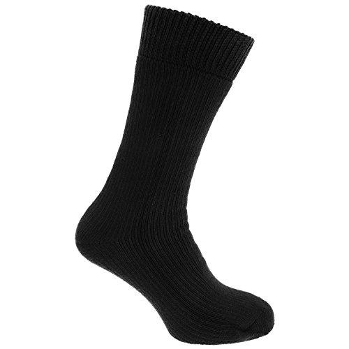 HDUK Mens Socks Herren Socken Schwarz Schwarz
