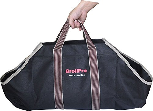 BroilPro Accessories BPA11 Log Carrier Black