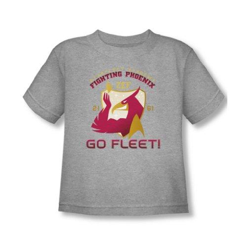 Star Trek - - Lutter contre l'enfant en bas âge Phoenix T-shirt En Heather, 2T, Heather