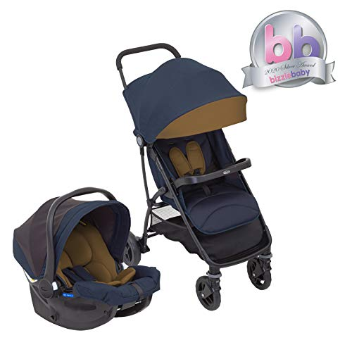 Graco Breaze Lite i-Size Travel System (Pushchair and Car...