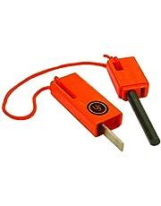 UST Unisex's Spark Force Fire Starter-Oranje, 15 x 9 x 1,5 cm