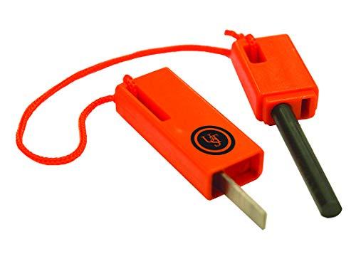 Ultimate Survival Technologies UST Spark Force Fire Starter - Orange, 15 x 9 x 1.5 cm