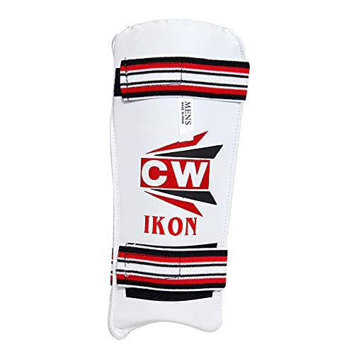 CW IKON codo guardia brazo guardia pad cricket para hombres mano derecha brazo protector bateo Elbo protección brazo pad guardia hombres tamaño
