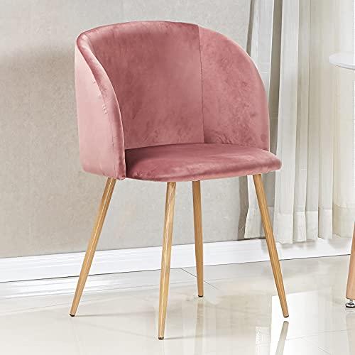 Dorafair Upholstered Velvet Desk